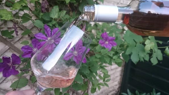 inschenken rosé