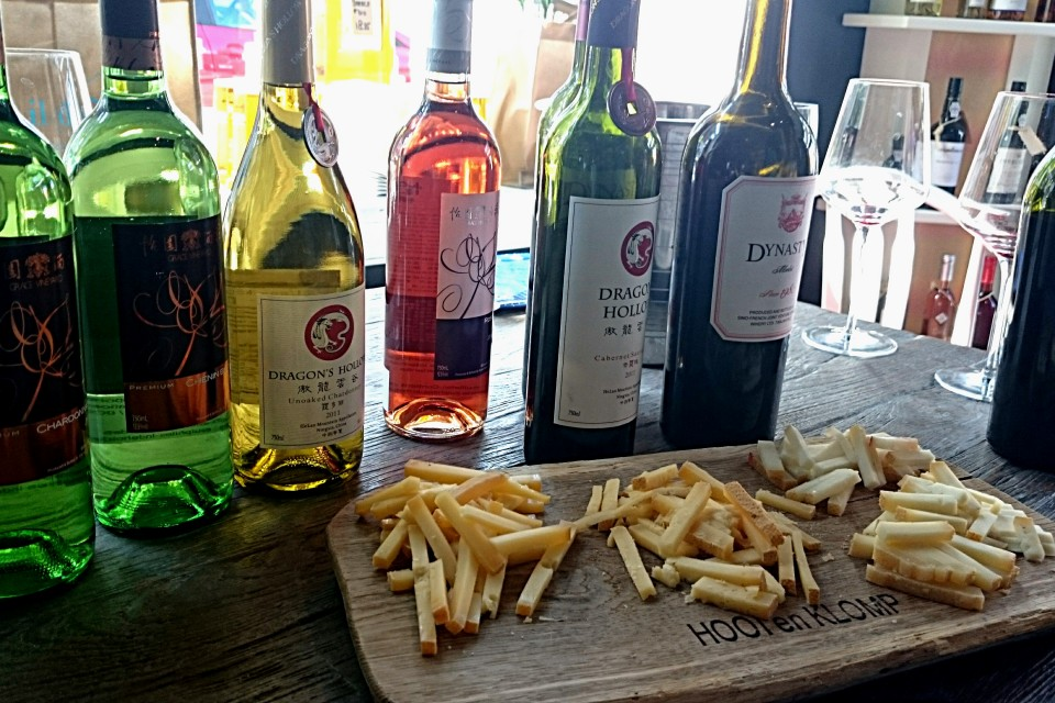 Chinese wijnen en kaas