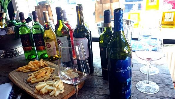 proeverij Chinese wijn
