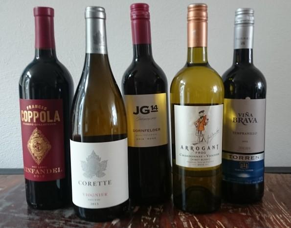 top vijf wijnen