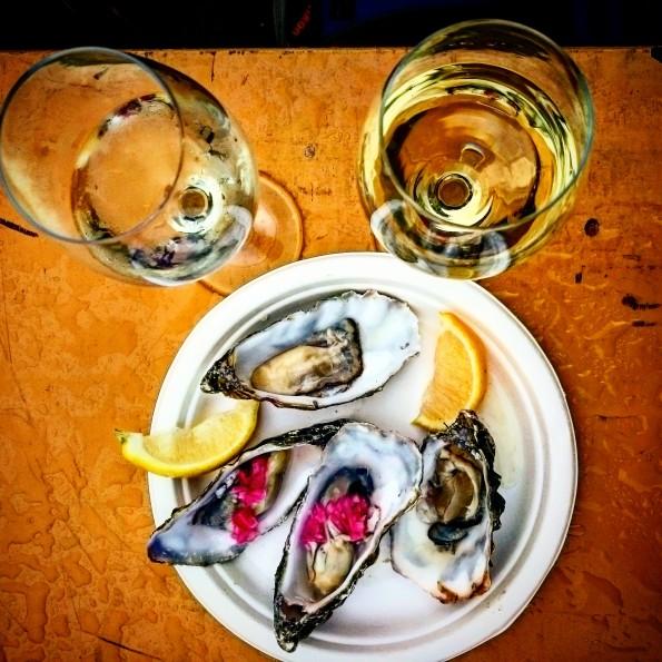 oesters en wijn