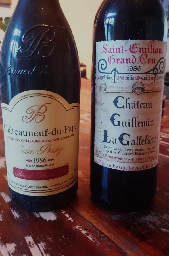 etiketten wijnjaar 1986