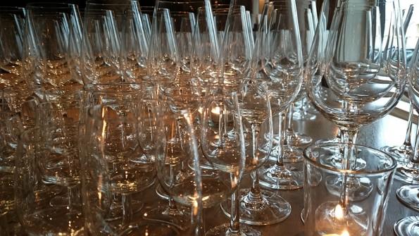 glazen wijnbar restaurant week