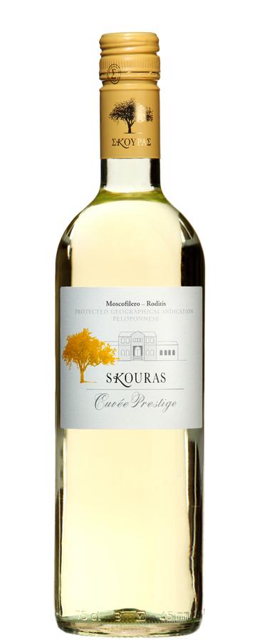 Griekse wijn cuvee prestige wit
