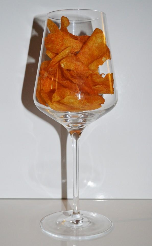 liefdesverdriet en chips