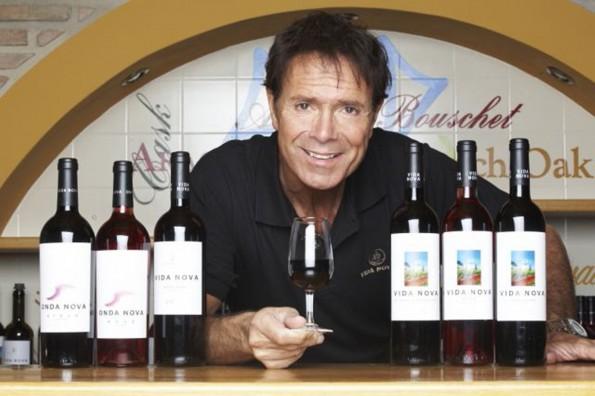 sterren wijn Cliff Richard