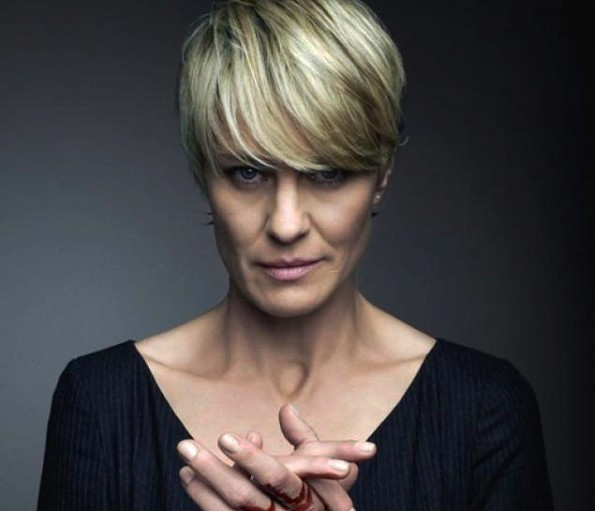 House of Cards bloed Claire Underwood