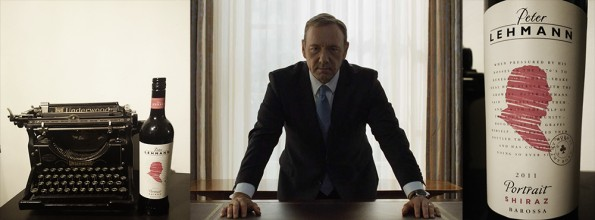 House of Cards wijn Frank
