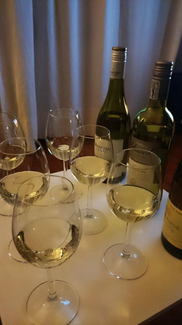 Sauvignon Blanc op tafel