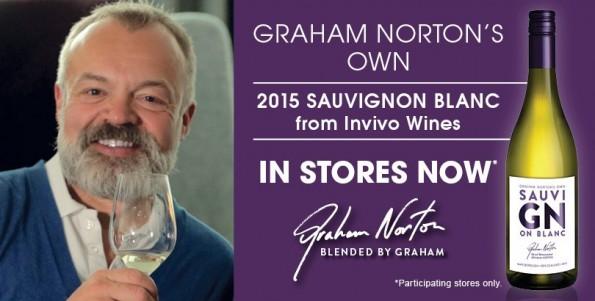 sterren wijn Graham Norton
