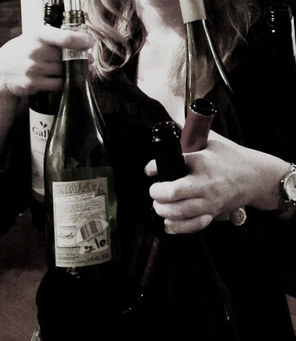 genante momenten flessen wijn