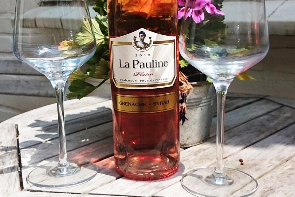La Pauline Plaisir Rosé 3 rosé tip