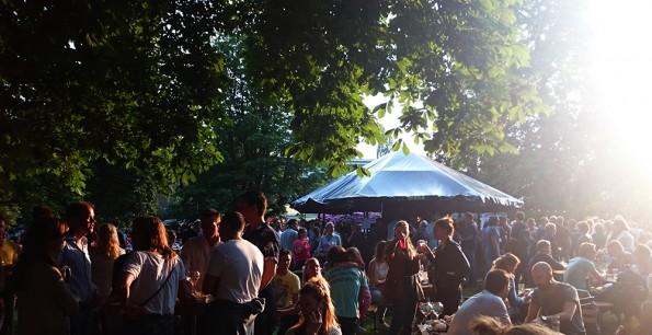 publiek foodtruck festival
