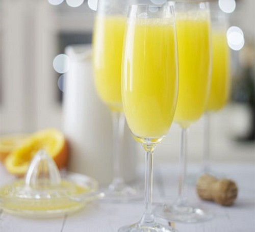 mimosa wijncocktail