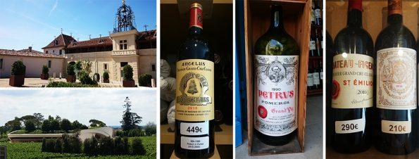 wijnreis Bordeaux petrus angelus