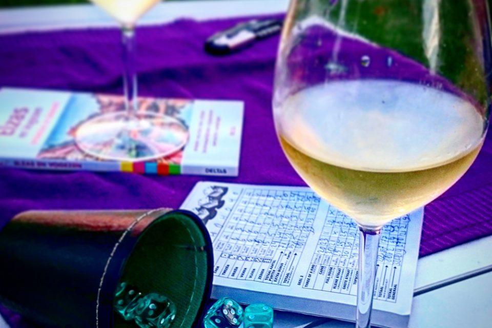 yatzee en wijn uit de elzas