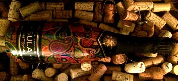 Wijn uit India Sparkling