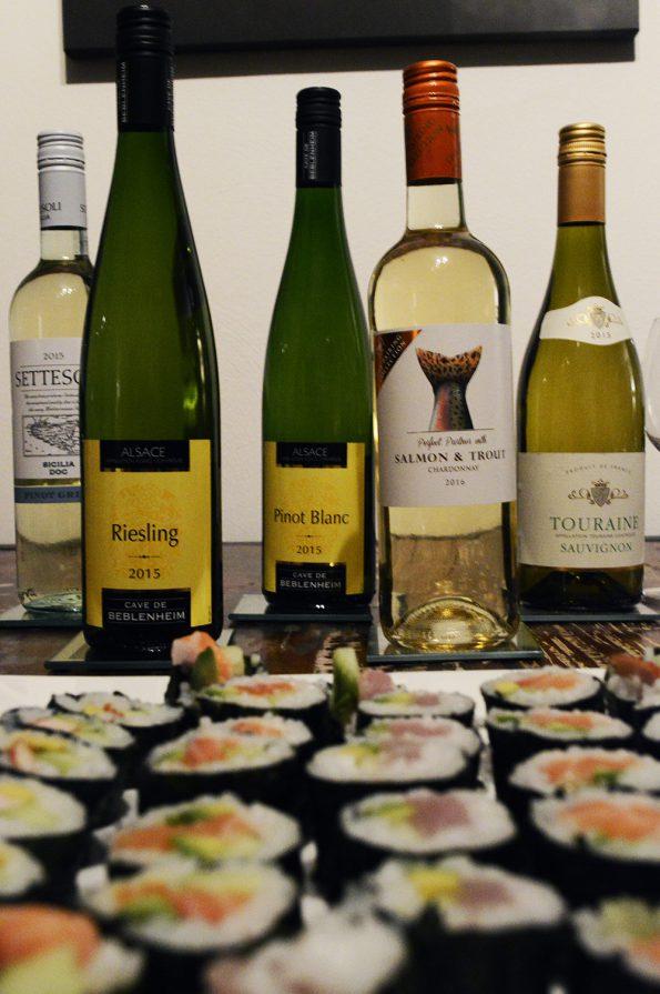 sushi en wijn 1