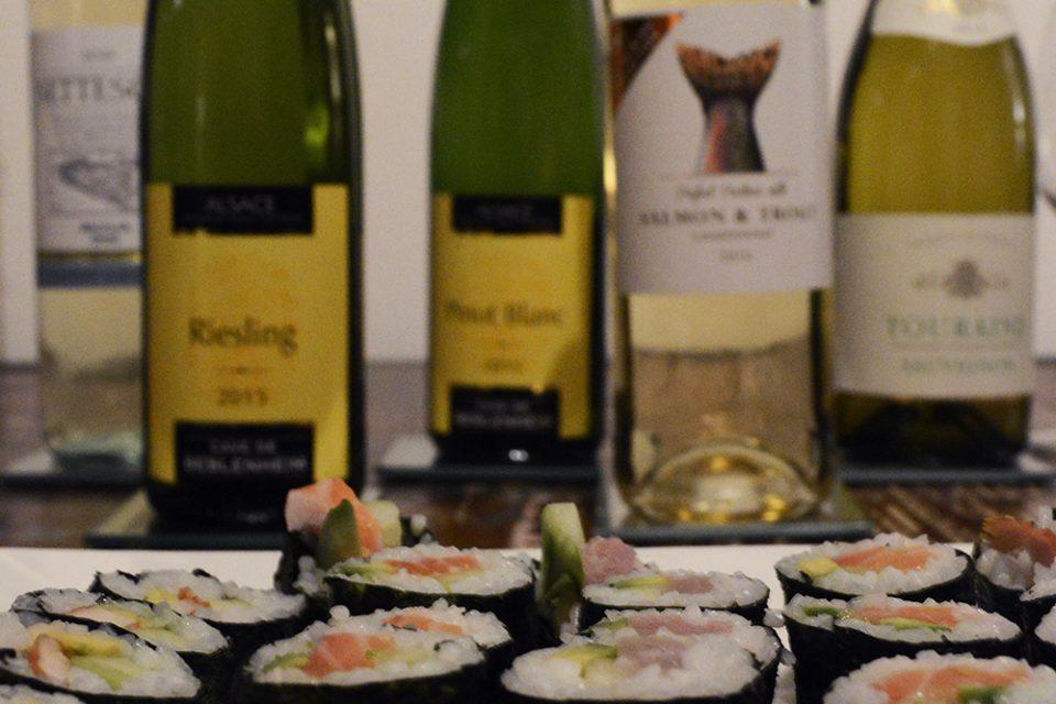 sushi en wijn hoofdfoto