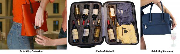 wijnhype koffer en tassen