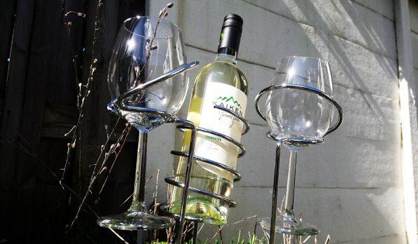wijnhouders in de zon