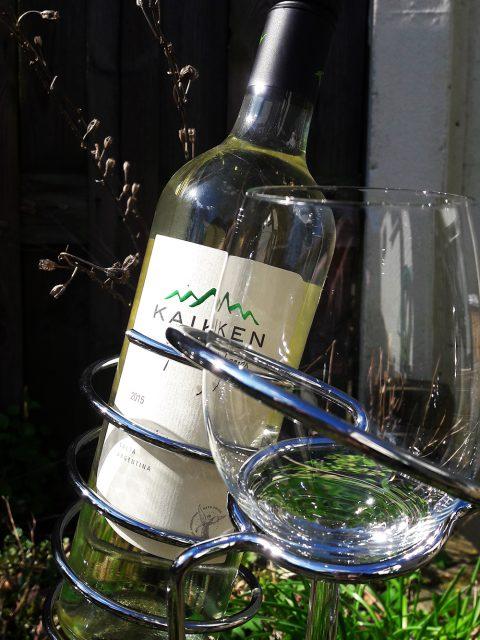 wijnhouders staand