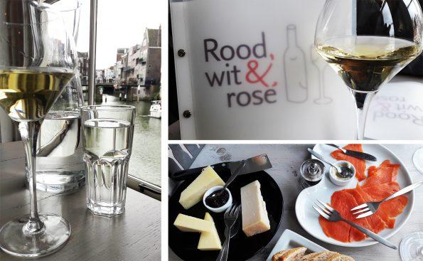 rood wit rose wijnbar dordrecht