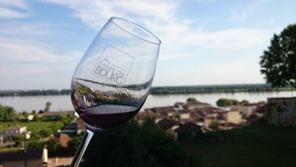 bourg glas uitzicht bordeaux