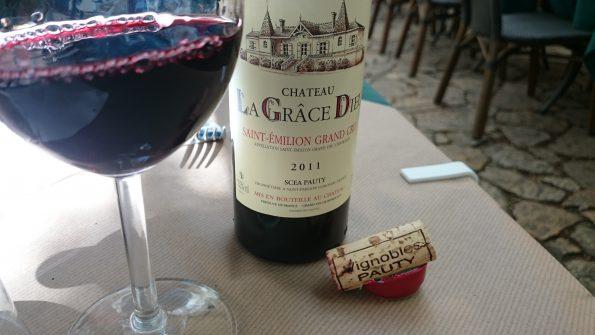 saint emilion op terras Bordeaux
