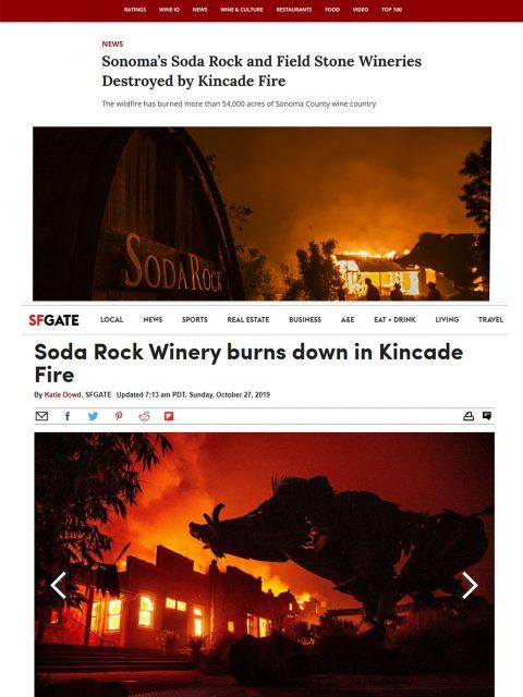 Kincade Fire Wine Country 3