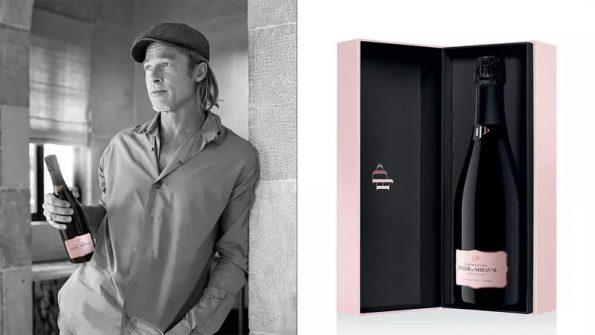 Brad Pitti Champagne Fleur de Miraval 1