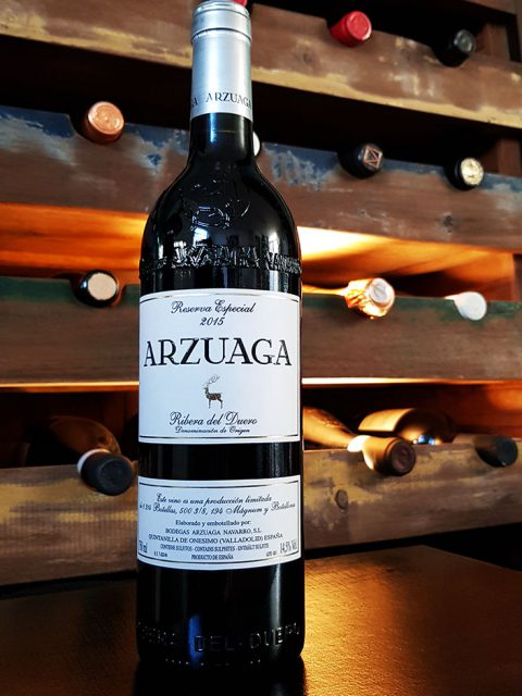 Spaanse wijn Arzuaga Ribera del Duero