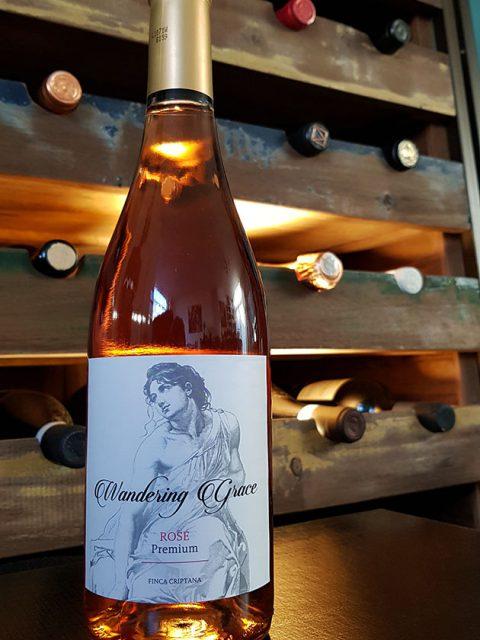 Spaanse wijn wandering grace rose
